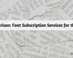 Comparison: Font Subscription Services for the Web