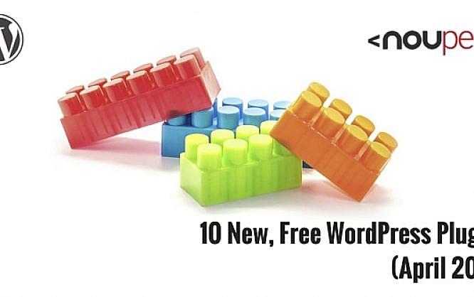 10 New, Free WordPress Plugins (April 2016)