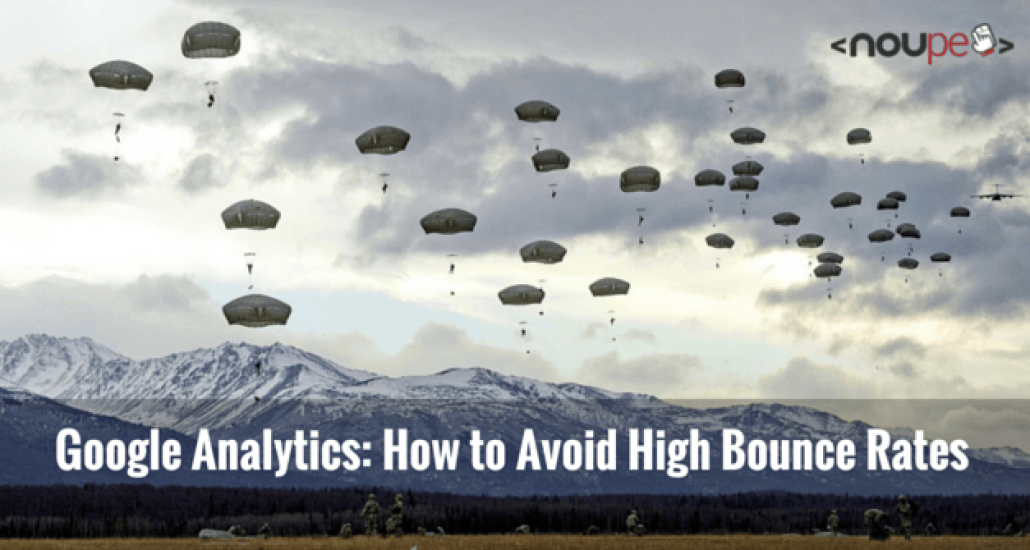 Google Analytics: How to Avoid High Bounce Rates