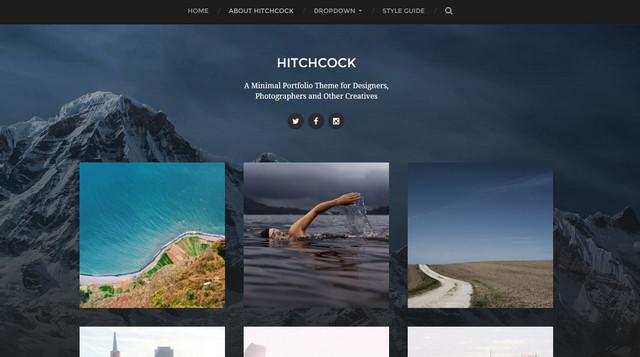 hitchcock theme