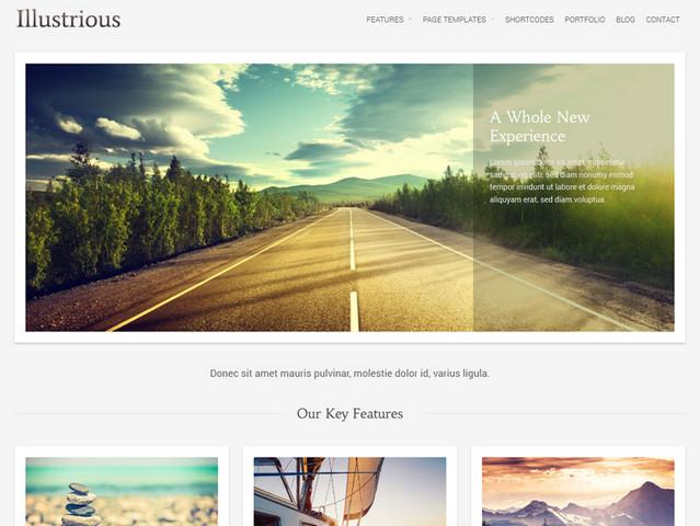 illustrious theme