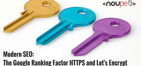 Modern SEO: The Google Ranking Factor HTTPS and Let's Encrypt