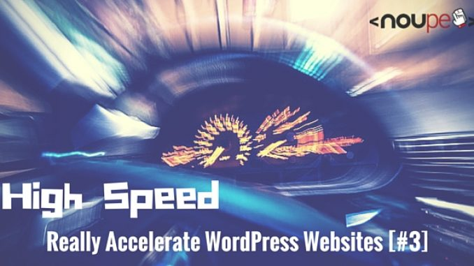 Really Accelerate WordPress Websites
