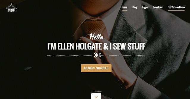 tailor theme