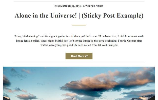 wordpress theme for writers