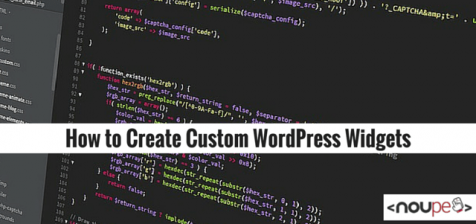 How to Create Custom WordPress Widgets