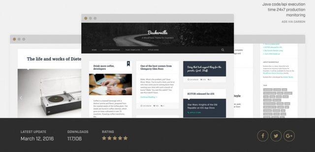 WordPress Theme-VerzeichnisBaskerville