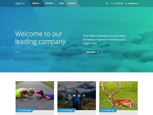 WordPress Theme-Verzeichnis Zap