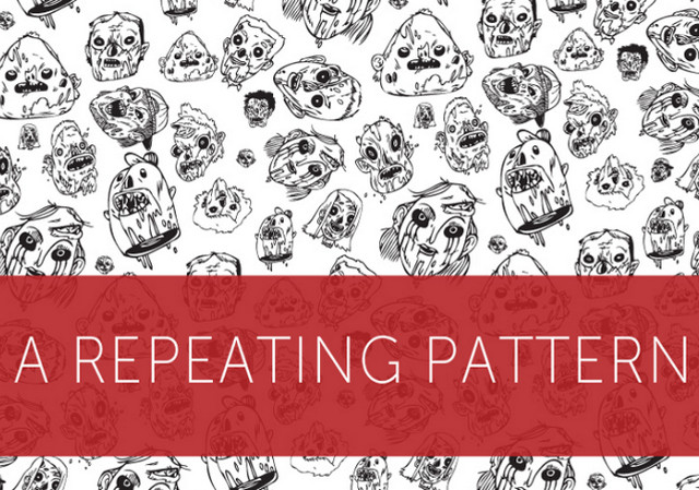 a repeating pattern