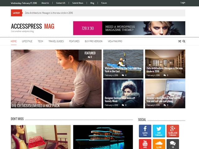 WordPress Theme-Verzeichnis Accesspress