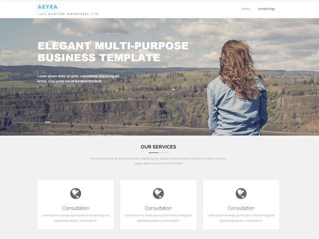 WordPress Theme-Verzeichnis akyra