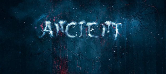 ancient text effect