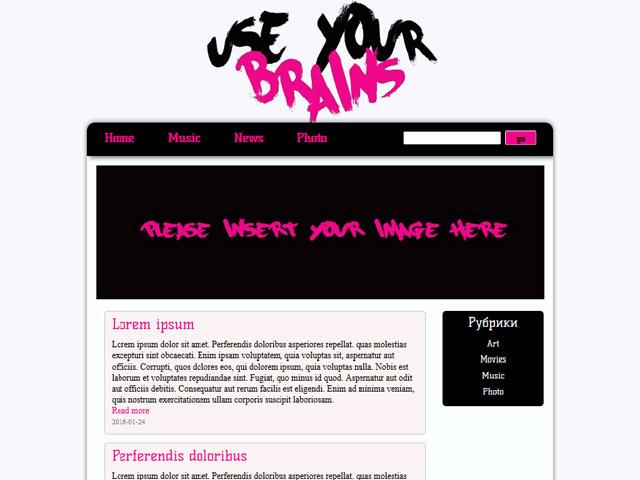 WordPress Theme-Verzeichnis Beispiel 1