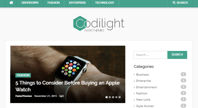 Codilight Lite: Modern & Clean Magazine WordPress Theme