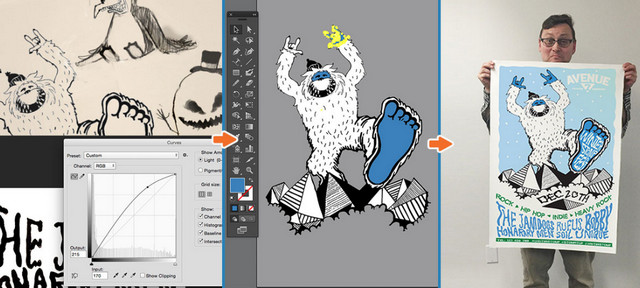 doodles into illustrator