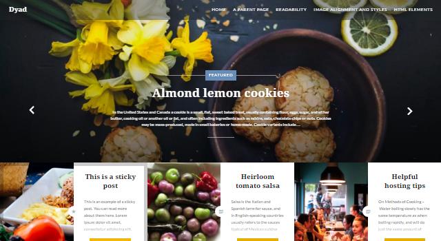 Dyad: Multipurpose Graphic WordPress Theme