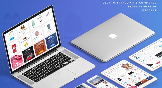 Elton: Stylish ECommerce Design UI Kit