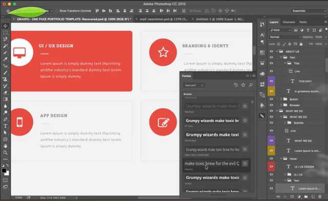 Fontea: Nutze alle Google-Fonts in Photoshop