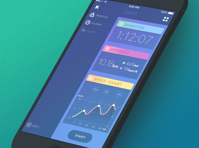 gif for sport app
