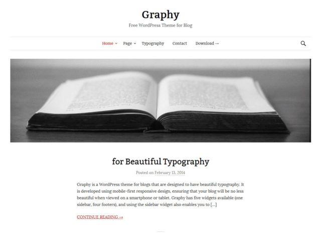 WordPress Theme-Verzeichnis graphy