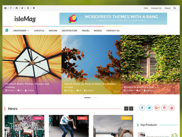 Islemag WordPress-theme