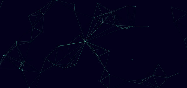 javascript particles animation