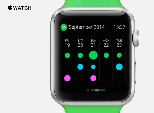 moves app for iwatch
