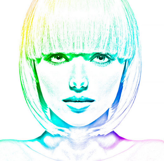photo into colorful sketch