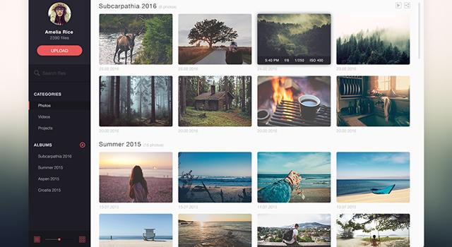Photo Management UI Kit