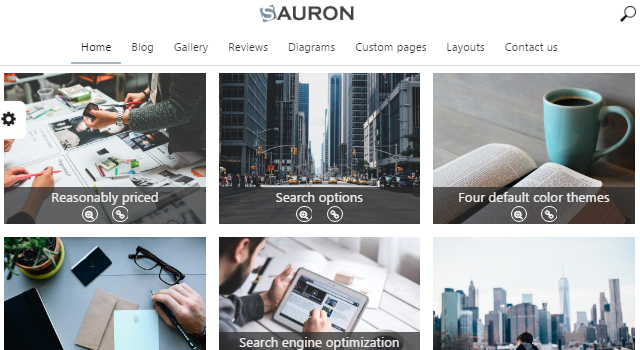 Sauron: Clean Multipurpose WordPress Theme