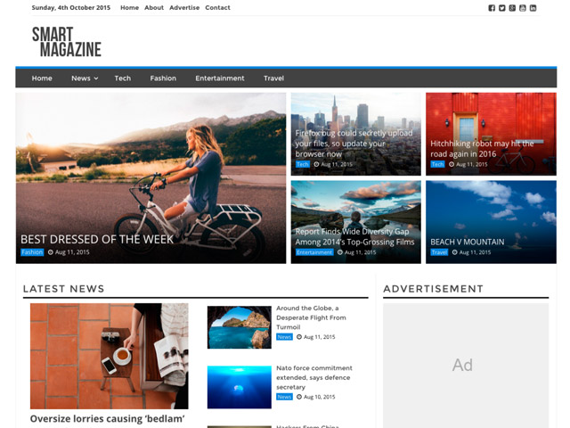 WordPress Theme-Verzeichnis smart-magazine