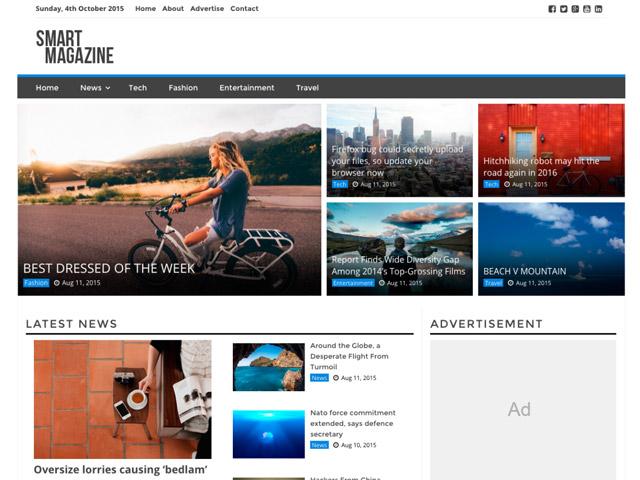 WordPress Theme-Verzeichnis smart-magazine