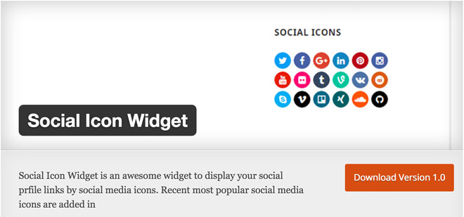 social-icon-widget