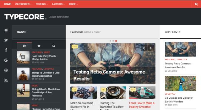 Typecore: Polished Magazine WordPress Theme