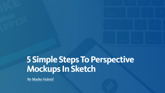 5 simple steps to perspective objects