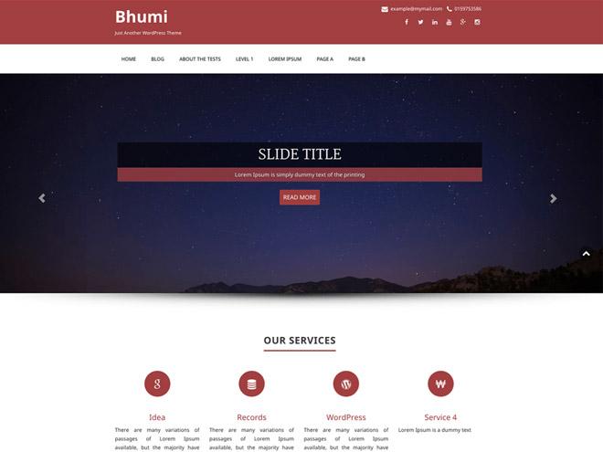 bhumi-wordpress-theme