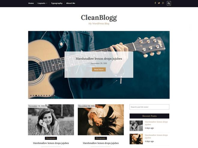 cleanblogg-wordpress-theme