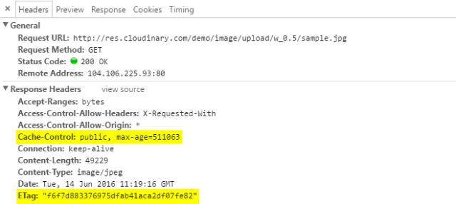 Image Cloud Service Cloudinary