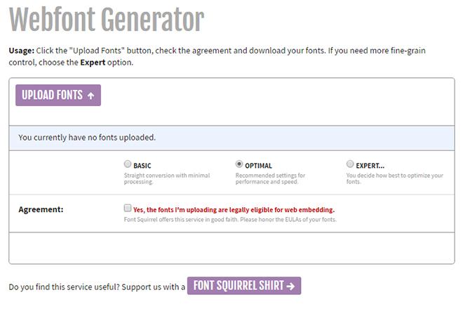 Optimizing Web Fonts Made Easy