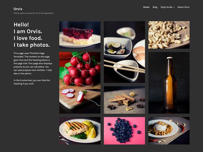 Orvis WordPress-Theme
