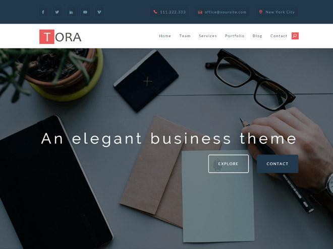 tora-wordpress-theme