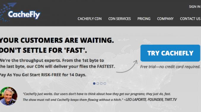 CacheFly CDN
