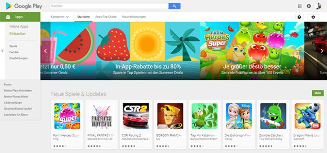 Googles Play Store