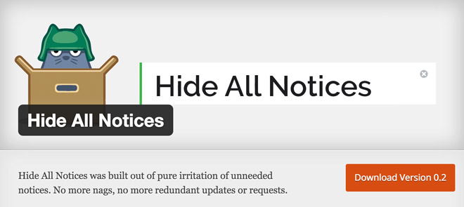Hide-All-Notices