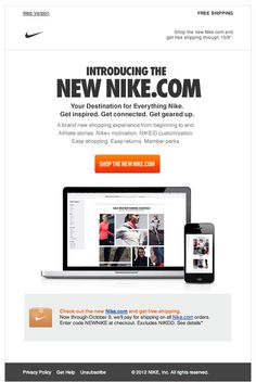 new product launch email template - how to get the most out of a new website launch