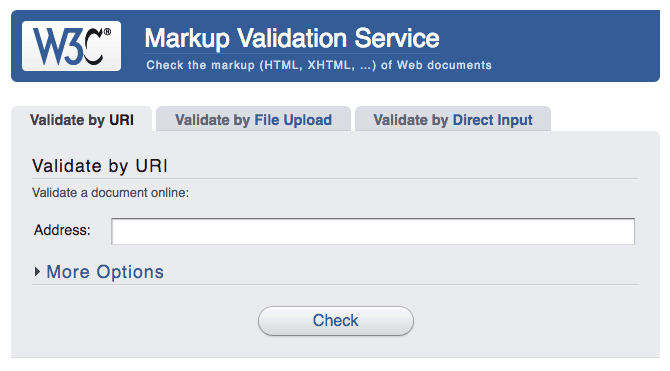 markup-validation