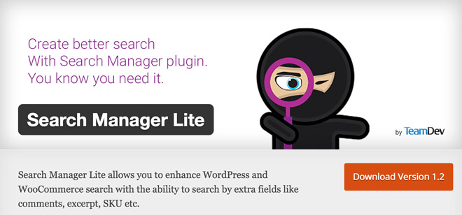 search-manager-lite
