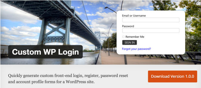custom-wp-login