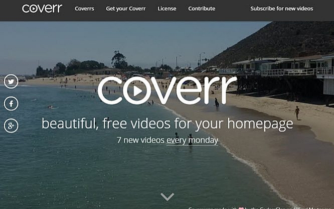 Coverr Over 300 Free Videos For Your Website