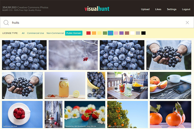 Search For Images of Specific Colors